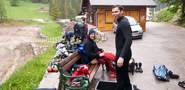 Centrum potápění Amers - Obertraun 05.2011 - foto 3