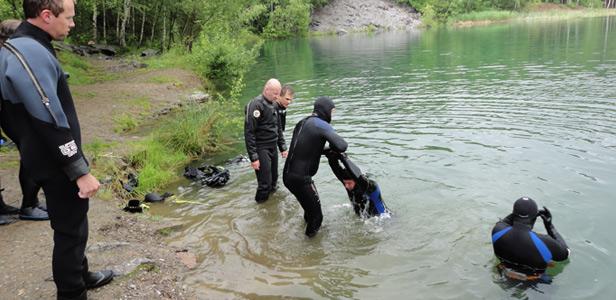 Centrum potápění Amers - rescue na Miličíně - foto 1