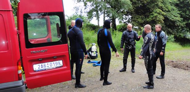 Centrum potápění Amers - rescue na Miličíně - foto 2
