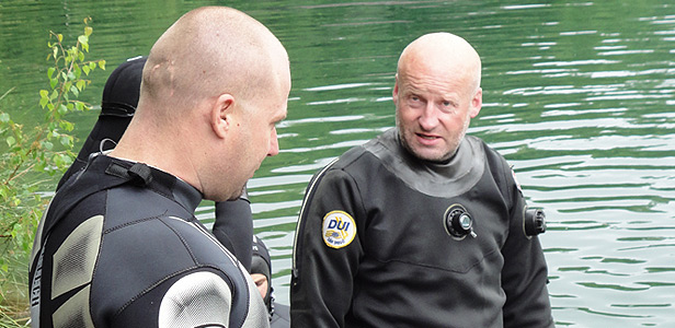 Centrum potápění Amers - rescue na Miličíně - foto 4